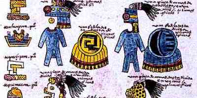Aztec Writing Codex Mendoza