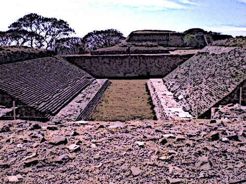 Ball Court was the most popular Aztec Game and Sport