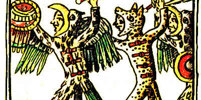 Aztec Eagle Warriors