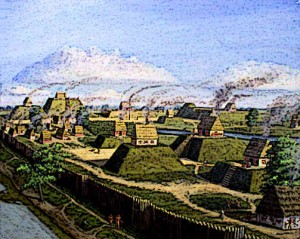 Aztec Homes on Platform Mounds