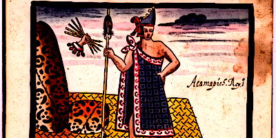 Aztec King Acamapichtli First Ruler of the Aztecs
