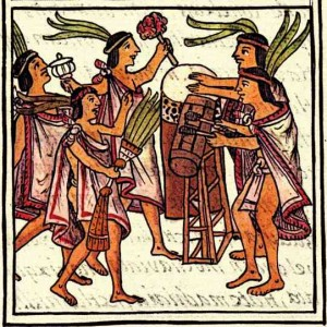 Aztec-Music-Aztec-Drums-Florentine--Codex