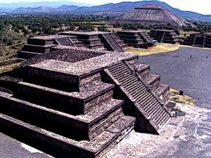 Aztec Pyramid of Teotihuacán
