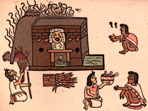 Aztec Steam Bath Temezcalli