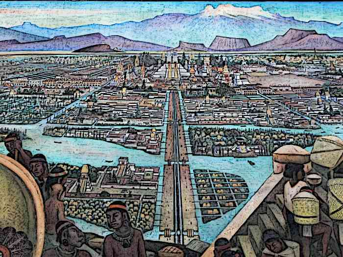 Aztec Technology Cities and Roads
