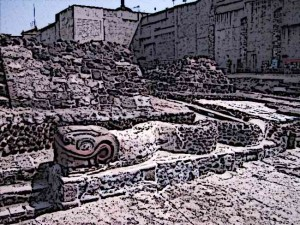 Aztec-Temples-Templo-Mayor-Serpents