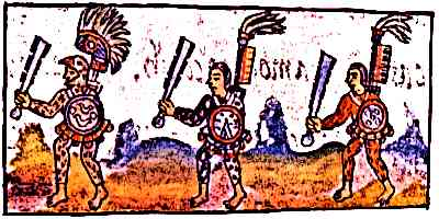 TEOCHIUATAN Yume Aztec-Warriors-Florentine-Codex-IX-Warriors