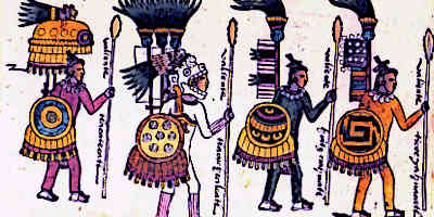 Aztec Warriors Names