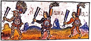 Florentine-Codex-IX-Aztec-Warriors