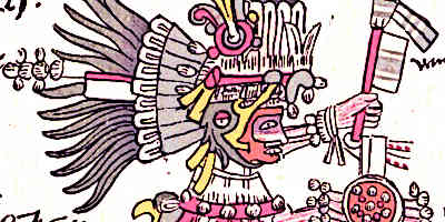 Aztec Humming Bird God