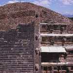 Temple of the feathered Serpent Teotihuacan