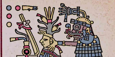 Tlaloc The Aztec God