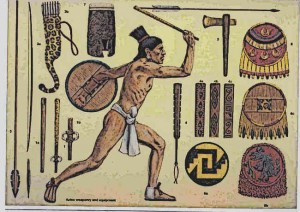 Aztec-Weapons-Types-and-The-Atlatl