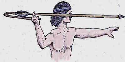 Aztec Weapons and The Atlatl