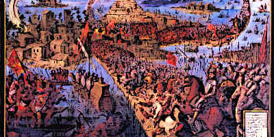 Spainish Explorers The Conquest of Tenochtitlan