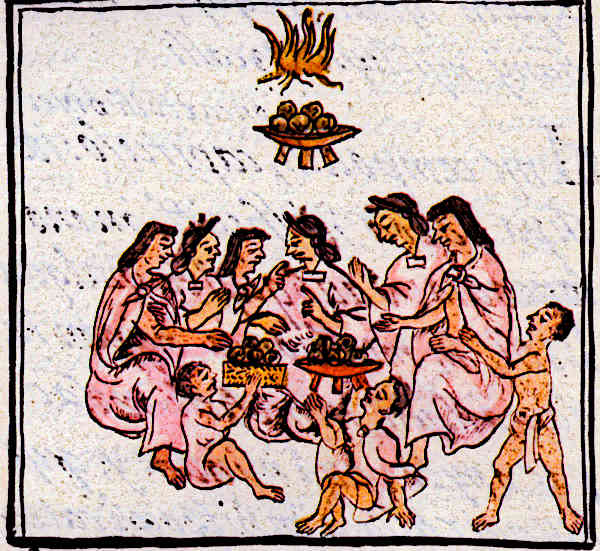 Aztecs were very family orientated and had strong family units